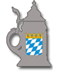 Beer Stein with Bavarian Crest Online Store