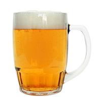 Bamberg Glass Beer Mug 0.5 Liter