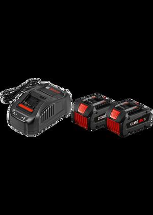 Bosch GXS18V-02N24 18V CORE18V Starter Kit with 2 CORE18V Batteries