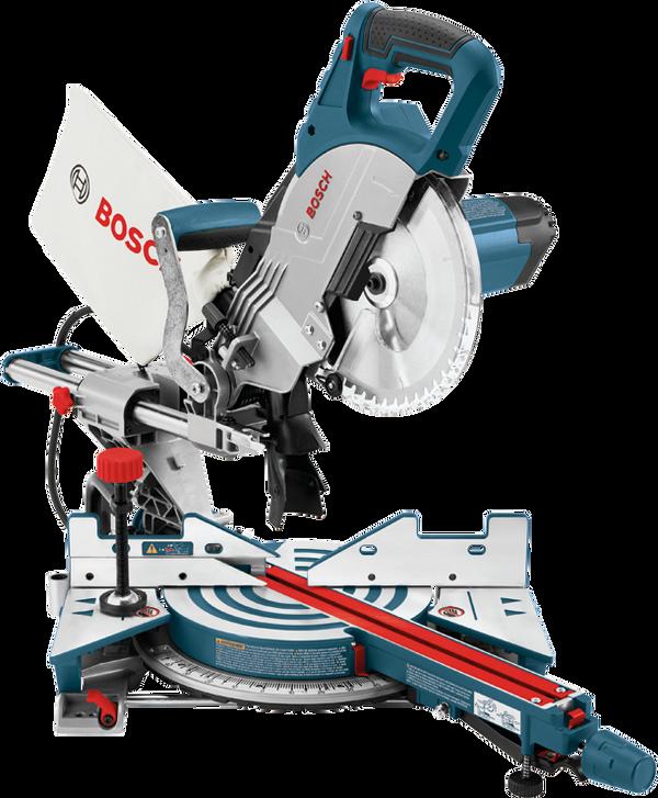 Bosch CM8S 8-1/2 In Single Bevel Sliding Compound Miter Saw