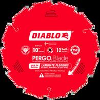 Diablo D1012LF 10 in. x 12 T PCD Laminate Flooring Pergo Diamond Tipped Saw Blade