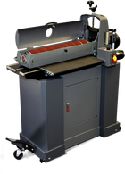 SuperMax Tools 72550 25-50 Drum Sander is the largest open-ended drum sander on the market