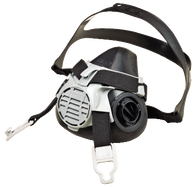 MSA 10102183 Advantage 420 Twin-Port Half Mask Respirator - Medium