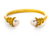 Botticelli Open Bangle Shell Pearl