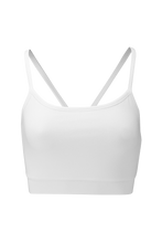 Nicer Crop Tank in White | Wellicious at Fire and Shine | Women's Crops