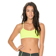 Amber Crop in Neon | Body Language at Fire and Shine | Womens Crops