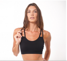 Strappy Bra Black | Nux at Fire and Shine | Womens Crops