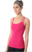 Warrior Tank Passionfruit| Nux at Fire and Shine | Womens Tanks