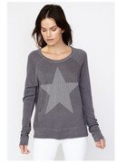 Star Crop Pullover | Sundry at Fire and Shine | Womens Longsleeve Tops