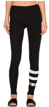 Skinny yoga pant with stripes | Sundry at Fire and Shine | Womens leggings