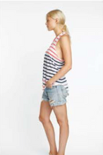 Sundry Slub Tank in Stripe | Sundry at Fire and Shine | Womens Tops