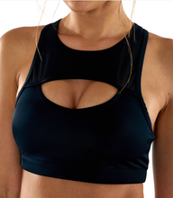 Peeka Boo Bra Black | Lurv at Fire and Shine | Womens Crops
