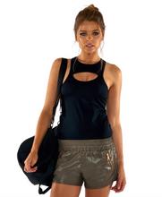 Lurv Sportswear - Peeka Boo Essential Cami - Black