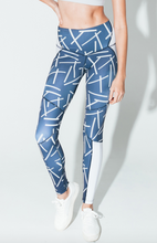 Mikado Legging Blue Metal | Arcadia Movement at Fire and Shine | Womens Leggings