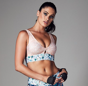 Twist and Shout Crop   Running Bare at Fire and Shine   Womens Crops