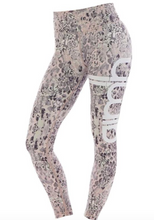 Eden Leggings Pink Snake | Aimn at Fire and Shine | Womens Leggings