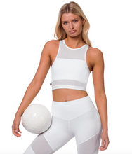 Lurv Sportswear - Sound Of Silence Crop - White