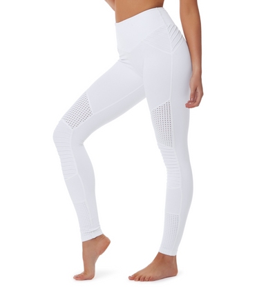 Race Ready Optic White | Lurv at Fire and Shine | Womens Leggings