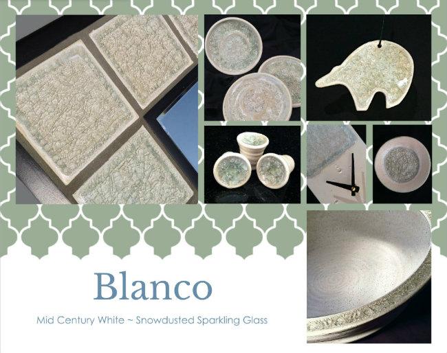 midcentury modern design white on white color