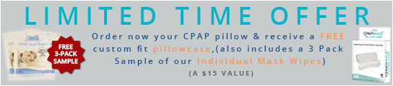Free Pillow Case and CPAP Wipes Sample