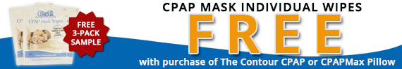 CPAP Mask Individual Wipes Promo