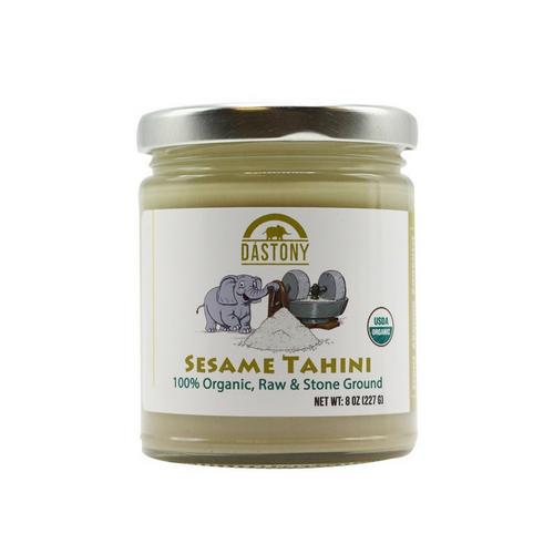Raw Organic Sesame Seed Butter (Tahini)