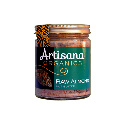 Artisana Raw Organic Almond Butter - 8 Ounce Jar