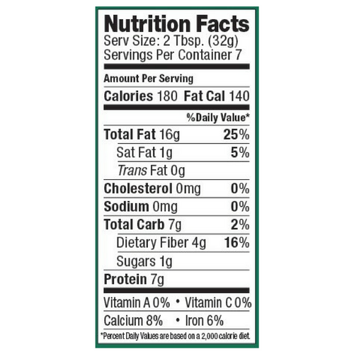Artisana Raw Organic Almond Butter - 8 Ounce Jar