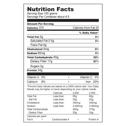 Organic Raw Mung Bean Sprout Powder