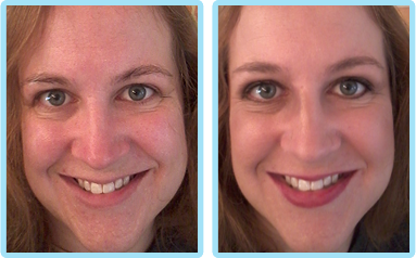 bare minerals before and after. jennifer.png bare minerals before and after