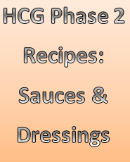 Learn how to make your own sugar-free, carb-free dressings for the HCG Diet.