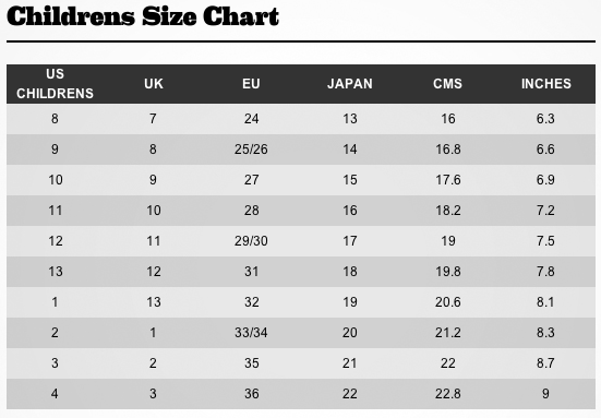 Adult men and women international shoe size conversion chart – Europe, Mexico, Japan, UK, Australia, USA & Canada and Korea adult shoe sizes. – E.g. a pair of European sized 42 men's shoes is equivalent to UK sized 8. Children international shoe size conversion chart .