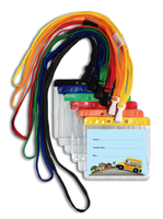 366 Standard Bus Tag ID with Pouch and Breakaway Lanyard