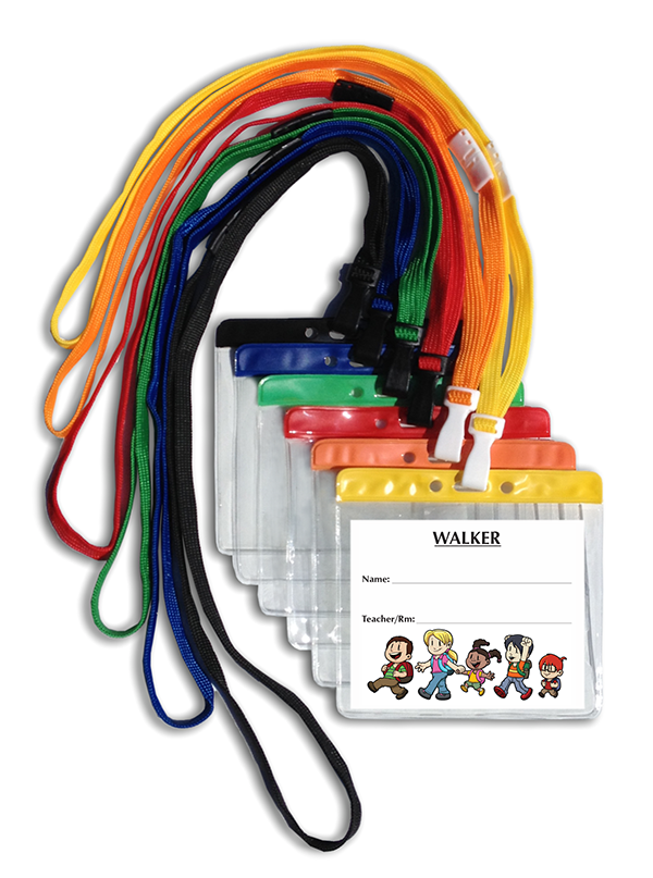366 Standard Walker Tag ID with Pouch and Breakaway Lanyard