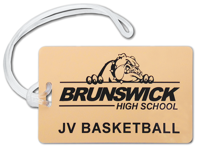 Choose from any of our in-stock color PVC cards, add your logo and team name!
