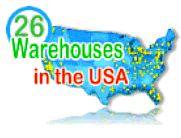 26-warehouses-in Amercia gets product to you Faster - click here -