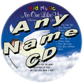 CUSTOM NAME - No One Like You Personalized Christian Lullaby Music CD