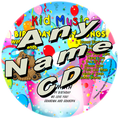 CUSTOM NAME - Birthday Party Songs with Lunchbox & Friends Personalized Kids Music CD