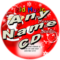 CUSTOM NAME - Santa Message Personalized Christmas Music CD