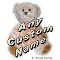 Personalized Singing Stuffed Animal Plush Toy