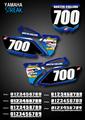 Streak Number Plates Yamaha