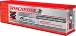 Winchester Super-X High Velocity Ammunition 22 Long Rifle 40 Grain Plated Lead Round Nose, 100 Rounds/Box - X22LRSS1