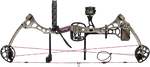 "Bear Bounty RTH (ready to hunt) Compound Bow, 23.5-27"""" draw length,  40-50 # draw weight, Right hand, Realtree Max-1 Pink -  A5BY21305R"