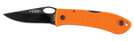 Ka-Bar Dozier Folding Hunter w/Thumb Notch, Blaze Orange - 4065BO