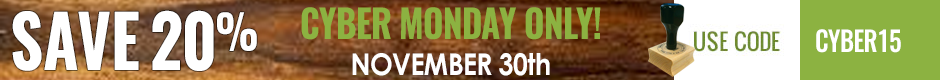 Cyber Monday Coupom! - click for details!
