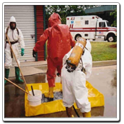 PREVENT Lite Decon Berms