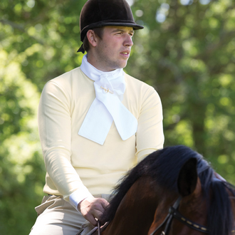 Equetech Men's Foxhunter Shirt (White or Buttermilk)