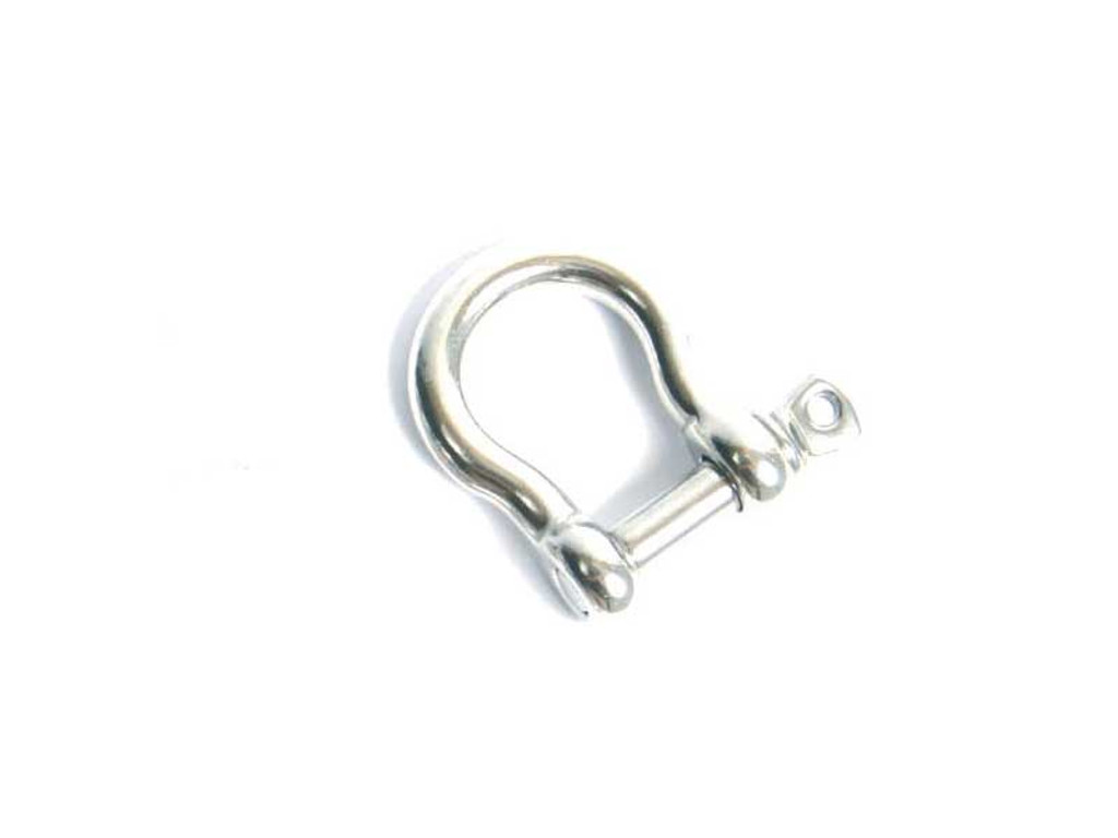 Tow Sled Hardware 316 Stainless 8mm Bow Shackle