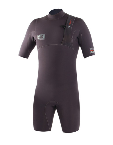 Mens Zero Zip Spring Suit - 2/2mm