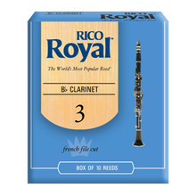 Rico Royal Bb Clarinet Reeds - Box of 10